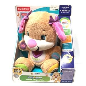 NIB Fisher-Price Laugh & Learn- Smart Stages Sis